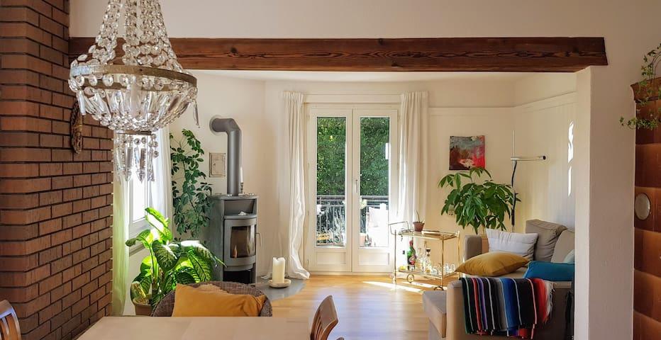 Wohnung mit Bergsicht im Herzen von Thun