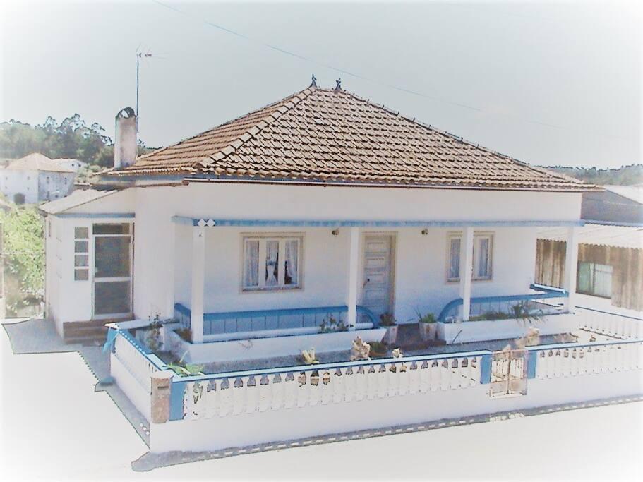 casa vista de fora
