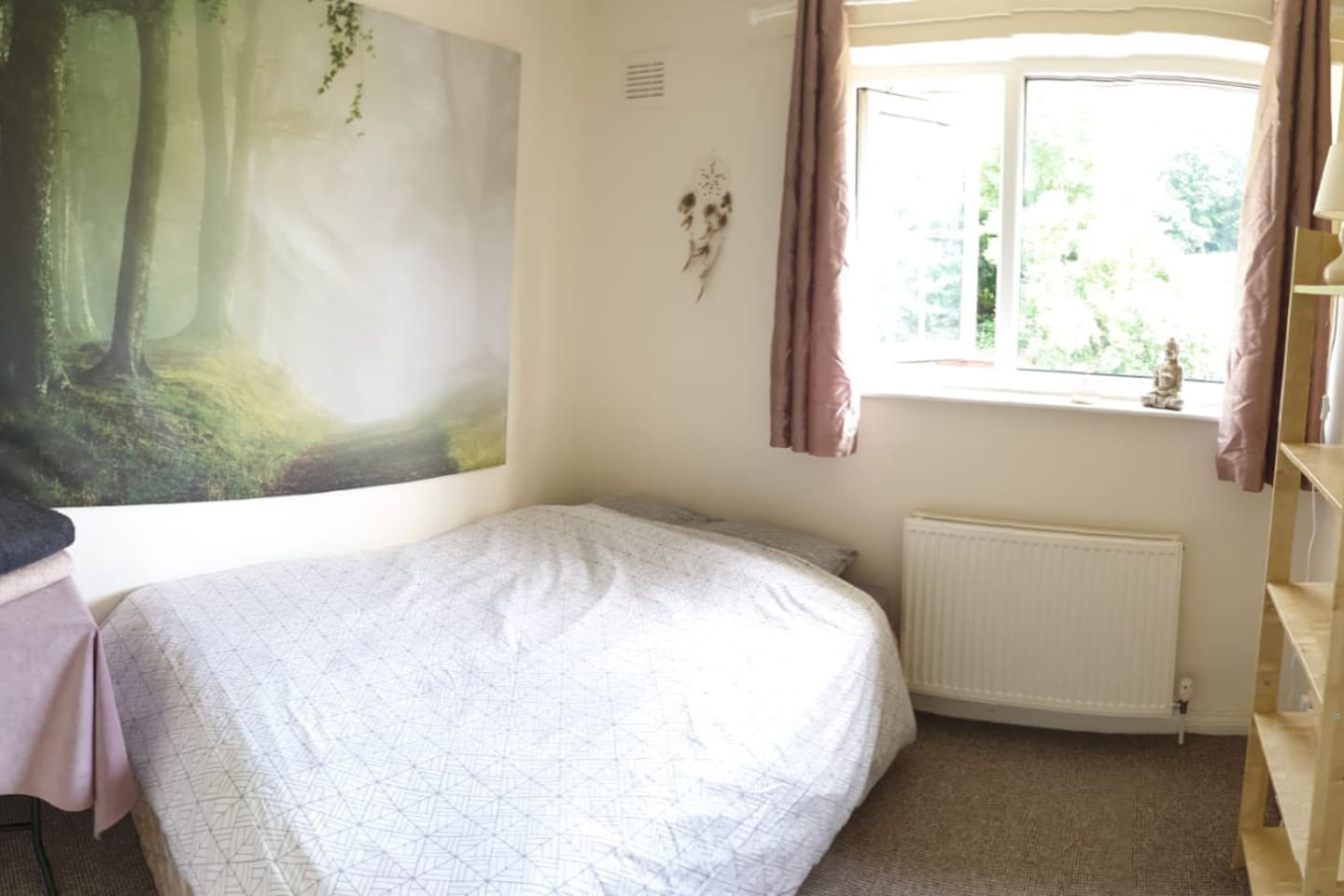 Double room in quiet place