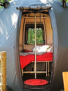 For nature lovers - tree tent
