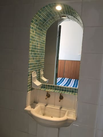 Our 3rd Bedroom has a small ensuite shower room with sink & W/C