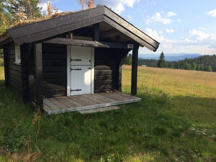 Smal cottage/ 1-roms hytte m/3 sengepl. Jakthytte.