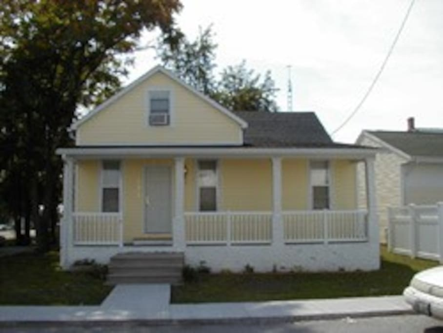 This cute home is great for a large family or two small families, sleeps twelve!