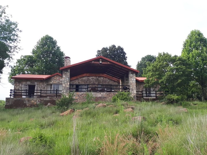 Klipspruit, Dullstroom Farm house, on Croc river