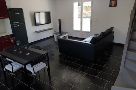 Appart 65 m² Jardin + Parking 6 personnes Anthon