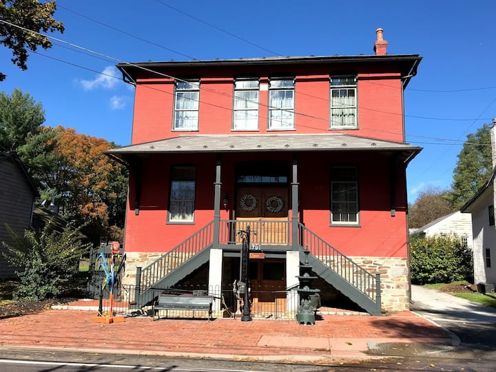 Historic 3500sf Chester County Town Hall Grange