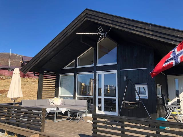 New modern cabin in beautiful surroundings