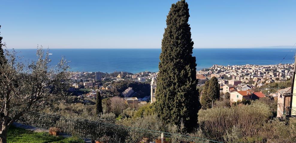 Casa vacanza Marta vivi nel verde, vista sul mare