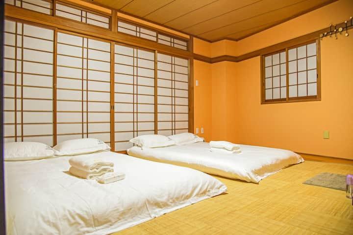 三室一厅三卫浴 可安排接送机服务 南海难波高岛屋对面 独栋日式现代别墅 奈良京都机场直达