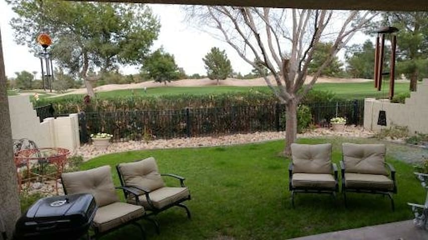 Beautiful golf course view in Gated Community