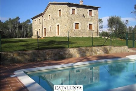 Spacious Catalan mansion in Banyoles, 35km from the Mediterranean coast - Girona