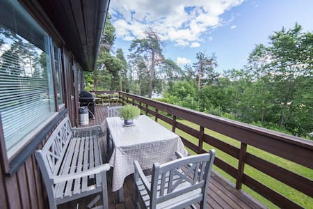 Big Villa with seaview very close to Oslo