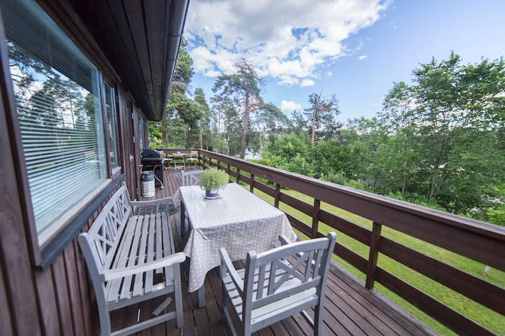 Big Villa with seaview very close to Oslo