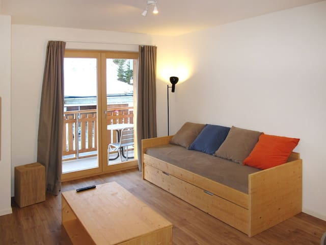 Holiday apartment in La Tzoumaz - La Tzoumaz - Byt