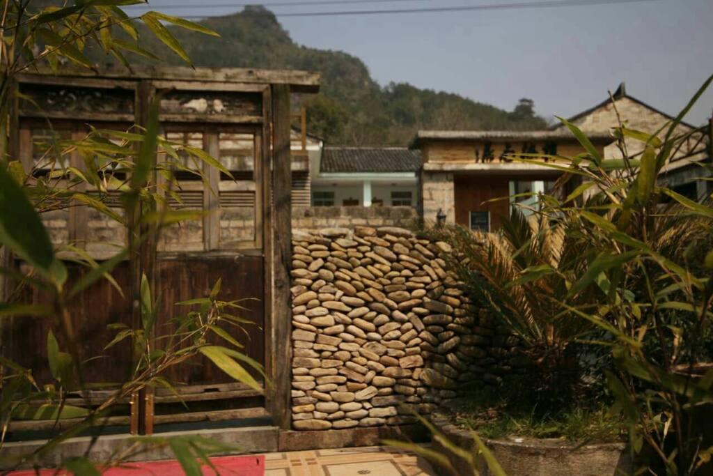 楠溪江民居的标志老门台