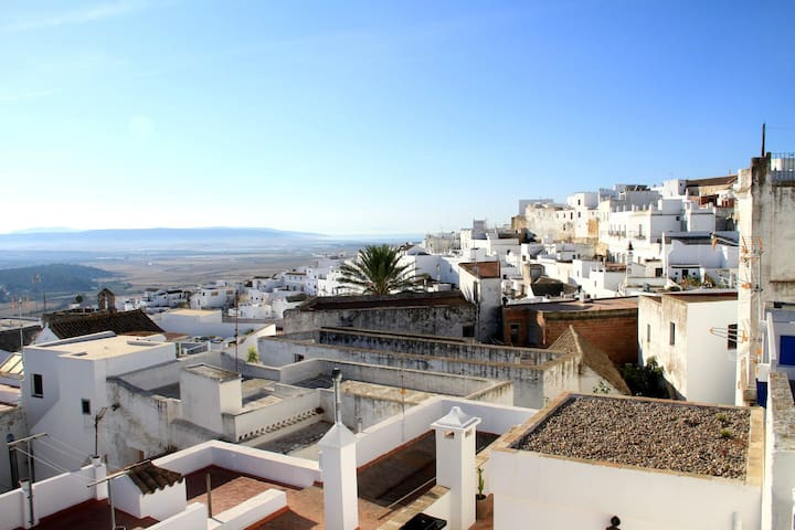 Flat in Vejer with Private Parking, WIFI & SeaView - Vejer de la Frontera - Wohnung