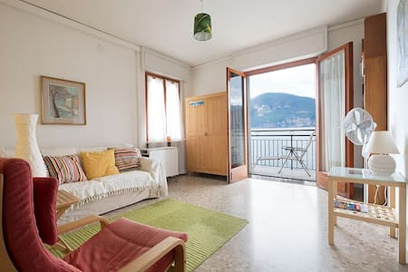 4-room comfortable apartment directly at the lake - Brenzone sul Garda - Pis