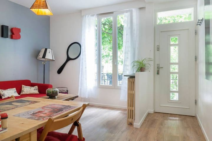 Cozy apartment Close to Paris and CDG airport