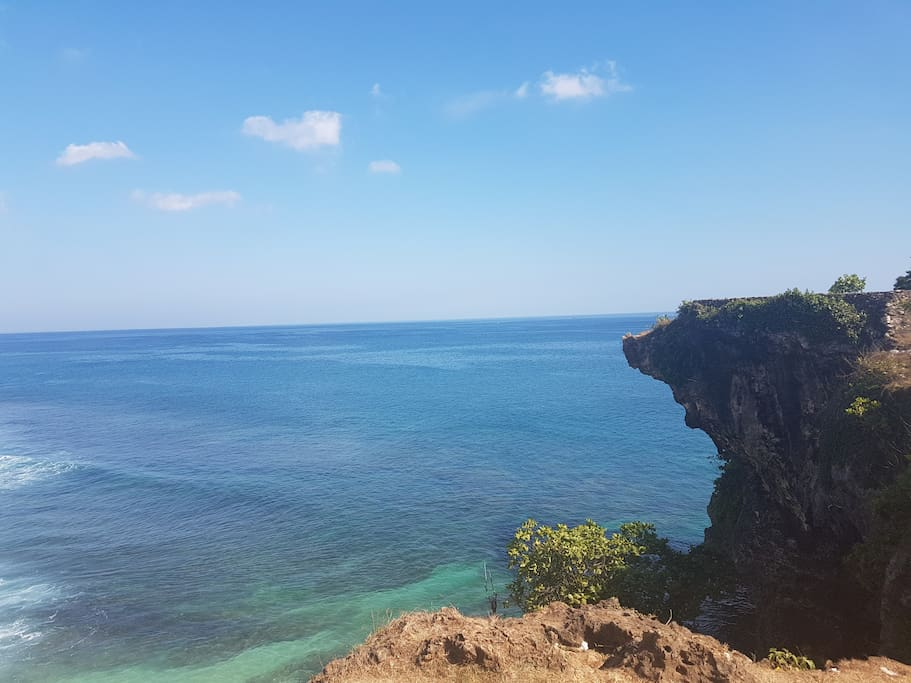 Stunning view of Balangan Beach - Just 20 Minutes away from our house!