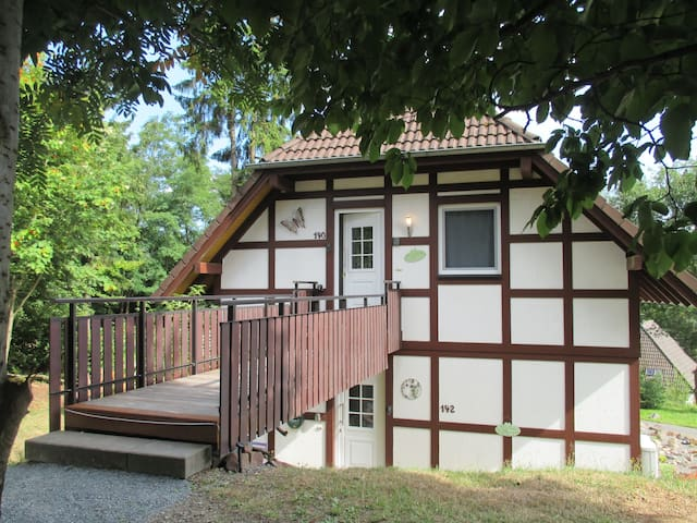 Karins Ferienhaus im Nationalpark Kellerwald - Frankenau - Apartamento