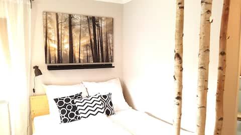 Kleine Wohnung + Dachterrasse / App. WALD by TILLY