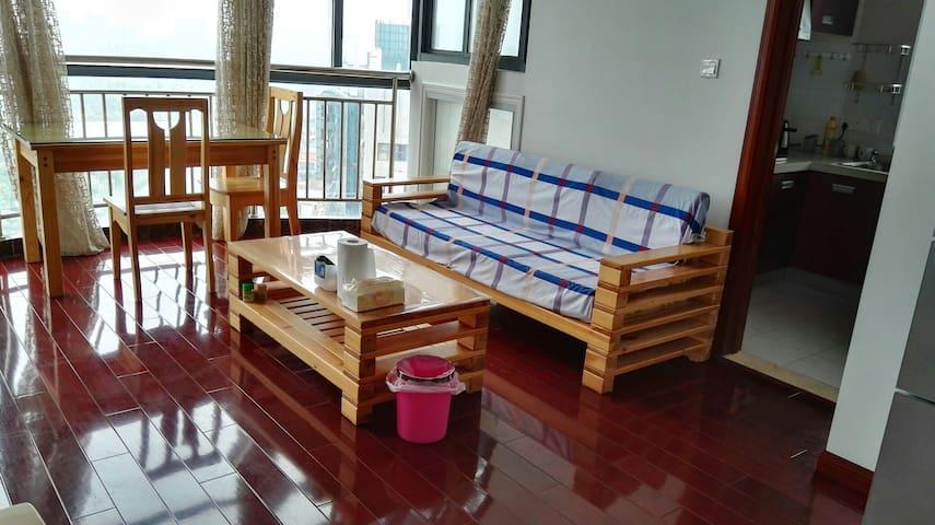何园旁,大水湾边,观景房。简洁清爽,方便实用。(免费Wifi,停车) - Yangzhou - Appartement