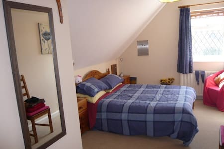 Comfortable double,lovely bathroom - Shefford - 住宿加早餐