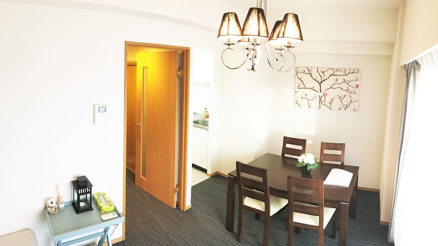 【BEAUTIFUL TOP FLOOR】2 SPLIT-LEVEL FLAT/SHINJUKU/1 - Shinjuku-ku - Apartemen
