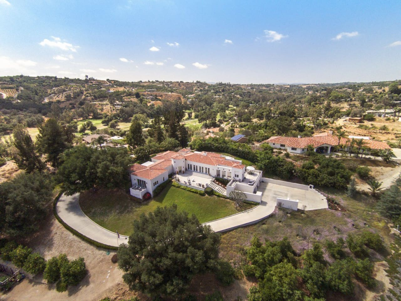 Contemporary estate with incredible views from every window and door !