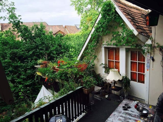 2 rooms in the historic city center of Basel - Basel - Hus