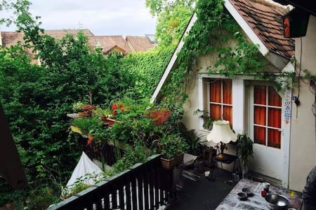 2 rooms in the historic city center of Basel - Βασιλεία - Σπίτι