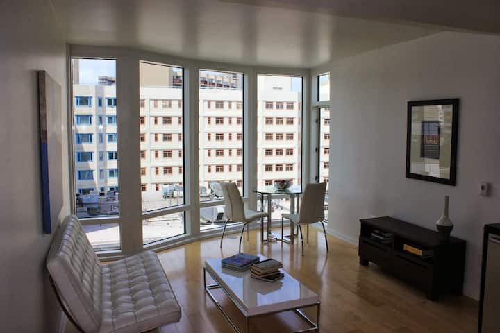 Luxury Condo with parking and in-unit laundry