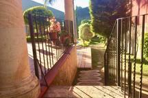 Tramo de escaleras