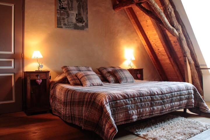 Dordogne,B&B avec jacuzzi à la Ferme de la Croix.