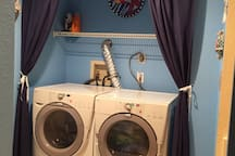 Heavy load front load washer/dryers for your convenience right in the unit.