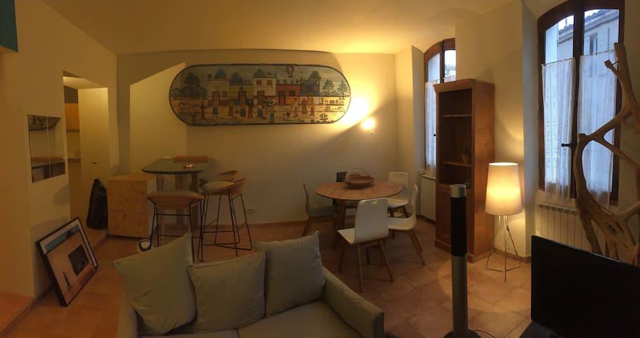 Le premier étage - Cucuron - Appartement