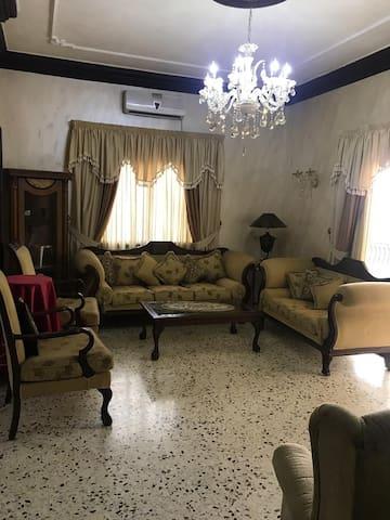 Super dulex furniture flat in the heart of alley