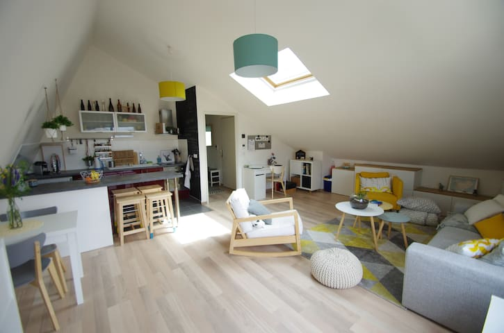 Cosy flat (60m²) in Bordeaux - Bordeaux