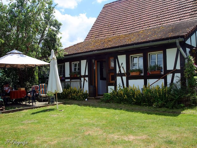 Maison Fleurie / Studio Monami, (Schwabwiller), Maison Fleurie, 35qm, 1 Schlafzimmer, max. 2 Personen