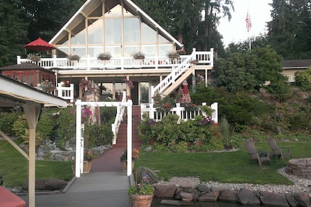 Lake Roesiger Waterfront - 2 bedroom Apartment - Snohomish - Casa