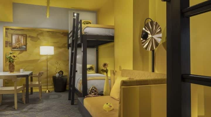 Angad Arts Hotel, Double Bunk Beds