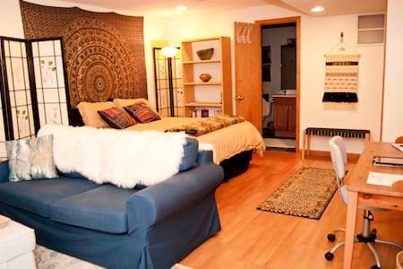 Cozy Boho Suite: *Clean* Comfortable and Quiet.