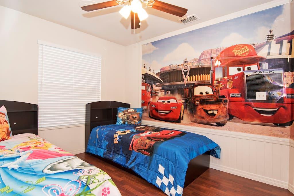 Cars Theme Room