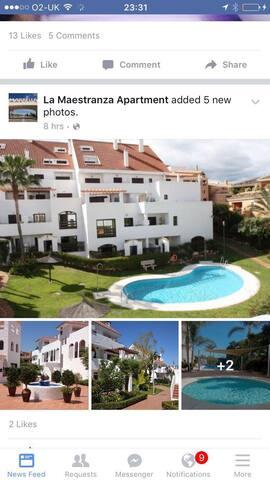2 bedroom  Apartment in Marbella