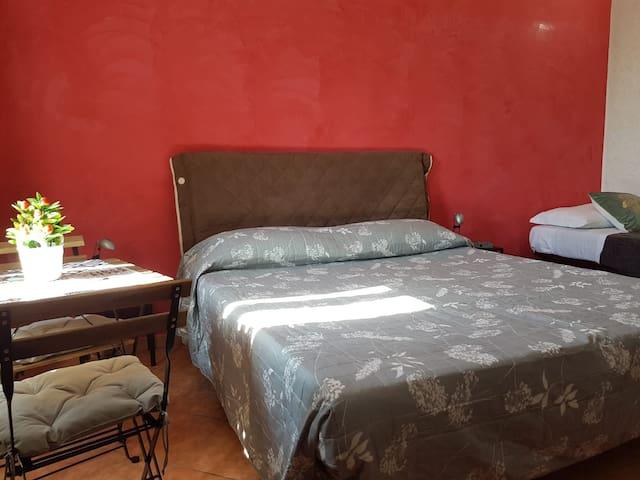 Ampia camera  Da Pippo vicino Termini-Repubblica