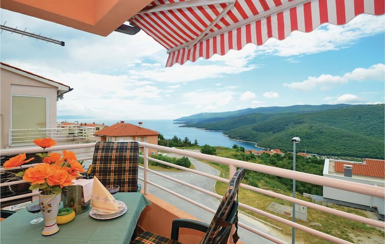 Holiday apartment with 1 bedroom on 42m² in Rabac