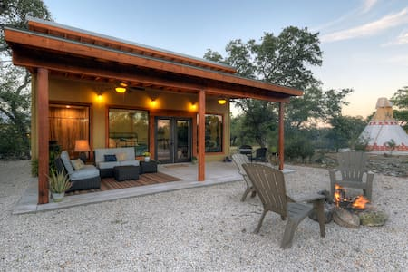 """The Texas Hill Country """"Tiny Home"""""""