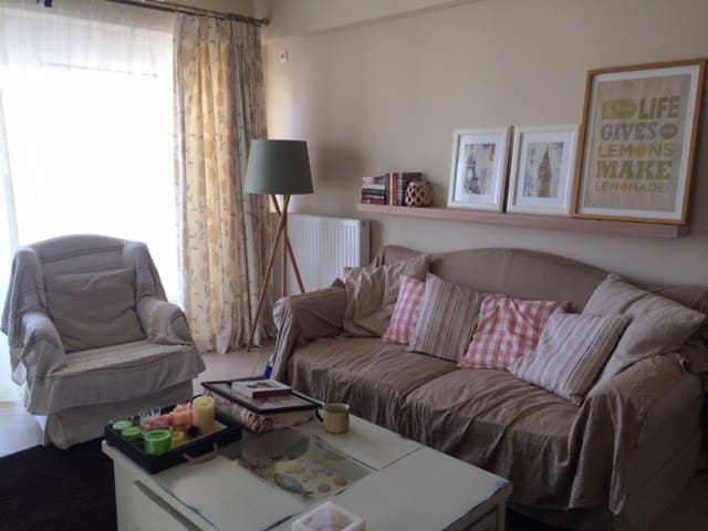 Cosy apartment, in Athens suburbs 5klm from sea - Markopoulo Mesogeas - 公寓