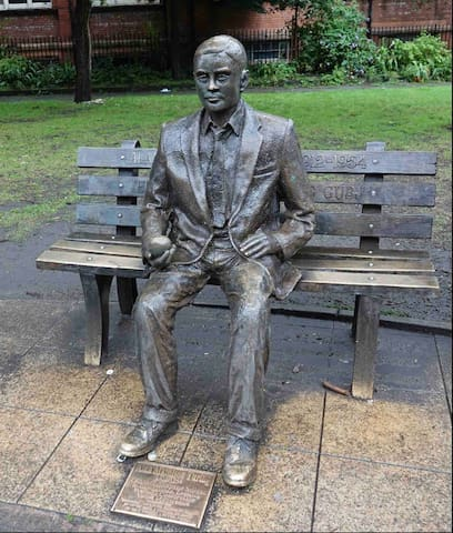 Alan Turing Memorial - 0.4 miles away