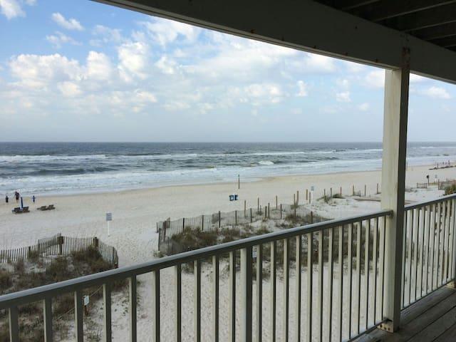 Beachfront!  Amazing View!! - Gulf Shores - Lägenhet